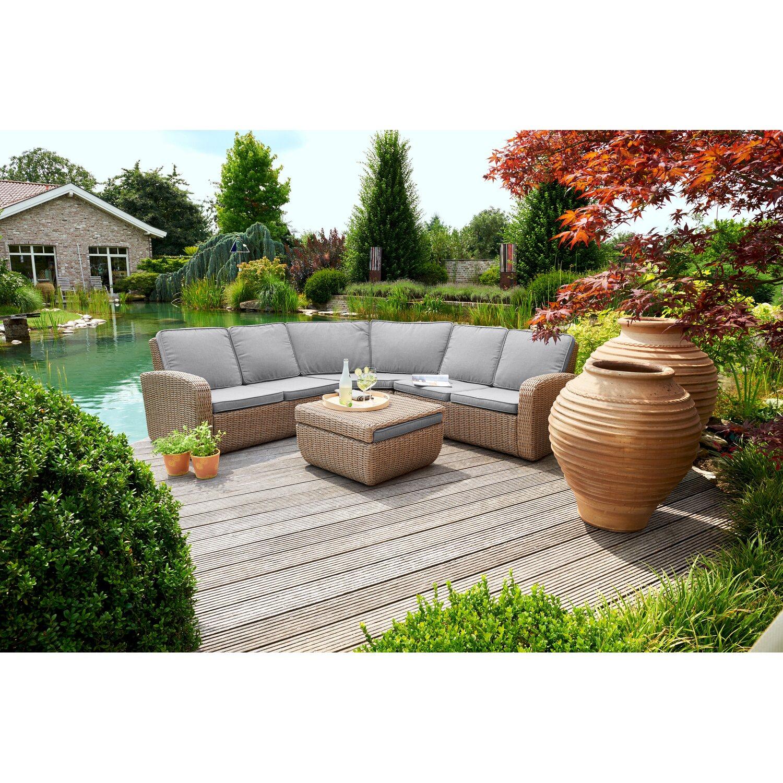 greemotion lounge set new york kaufen bei obi. Black Bedroom Furniture Sets. Home Design Ideas