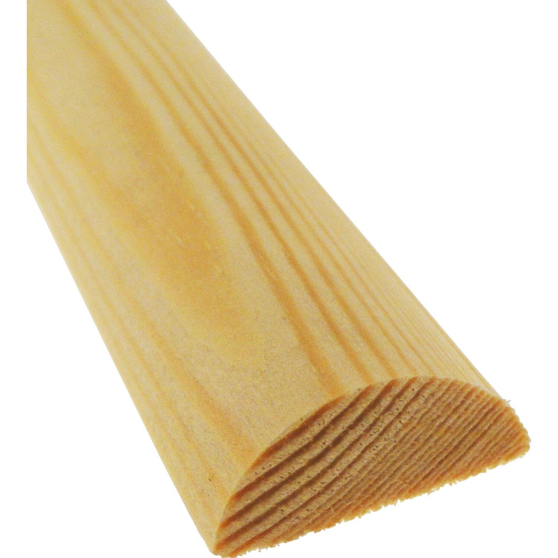 halbrundstab kiefer 20 mm x 10 mm l nge 900 mm kaufen bei obi. Black Bedroom Furniture Sets. Home Design Ideas