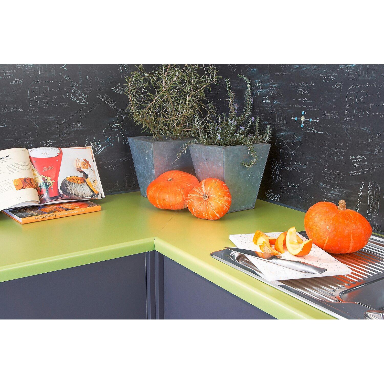 Arbeitsplatte 60 cm x 3,9 cm Olivgrün (TN 556) kaufen bei OBI