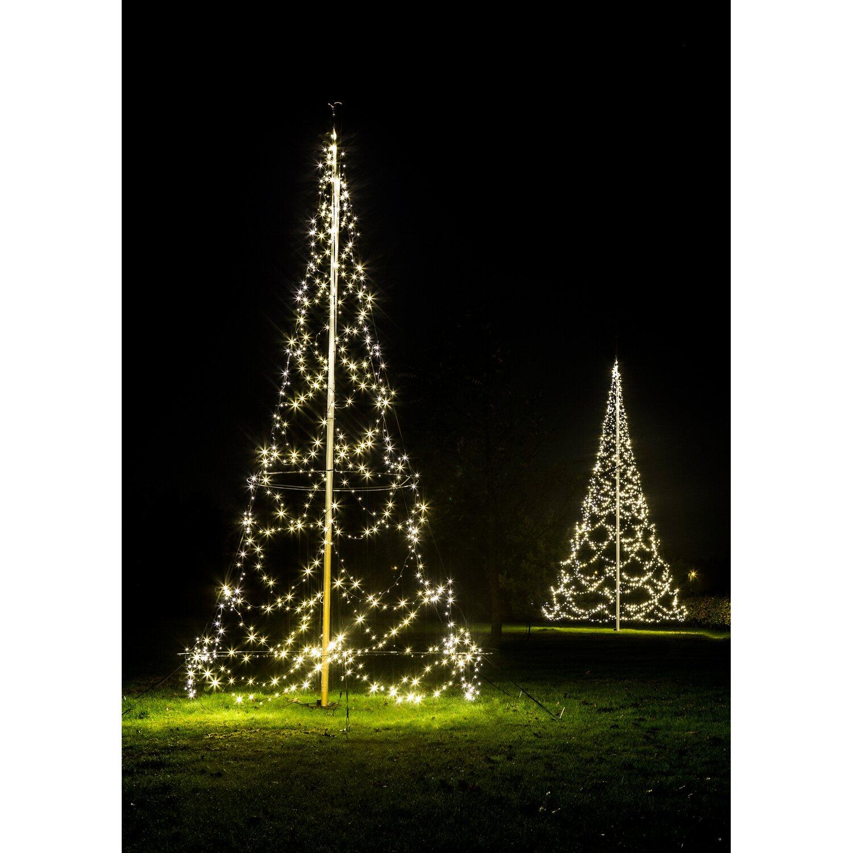 fairybell 3d fahnenmast baum f r au en 720 led 6 m kaufen bei obi. Black Bedroom Furniture Sets. Home Design Ideas