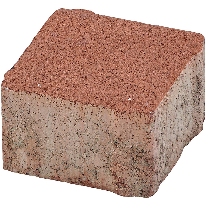 Quadrat-Pflaster Beton Braun 10 cm x 10 cm x 6 cm