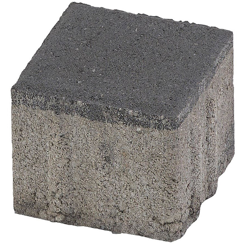 Quadrat-Pflaster Beton Anthrazit 10 cm x 10 cm x 8 cm