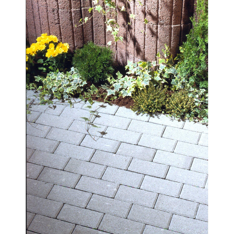rechteck pflaster beton grau 20 cm x 10 cm x 8 cm kaufen bei obi