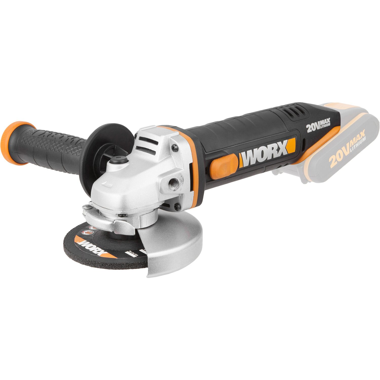 worx akku winkelschleifer 20 v wx800 9 kaufen bei obi. Black Bedroom Furniture Sets. Home Design Ideas