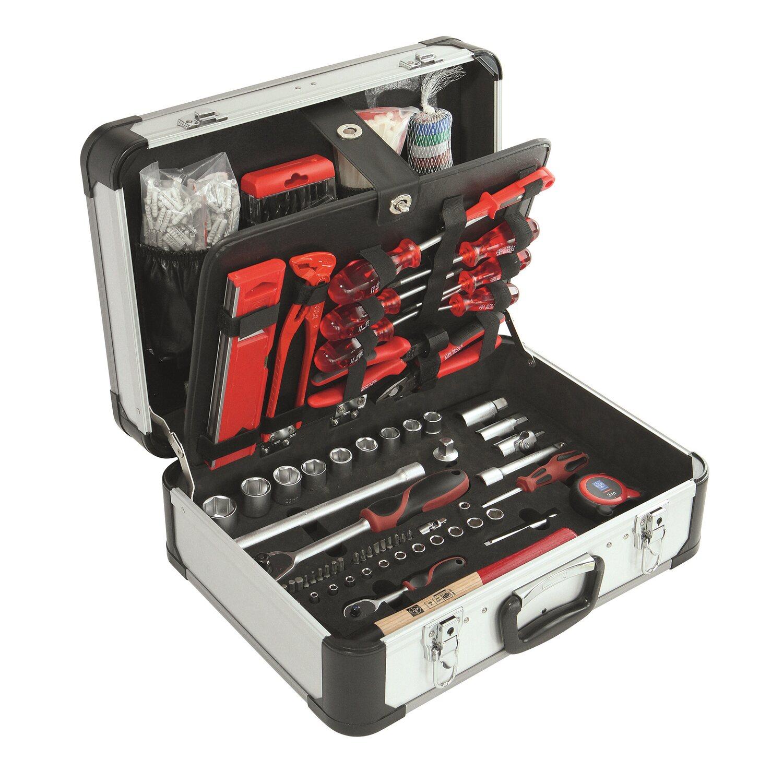 LUX Werkzeugkoffer WZK-499 Rot Comfort kaufen bei OBI