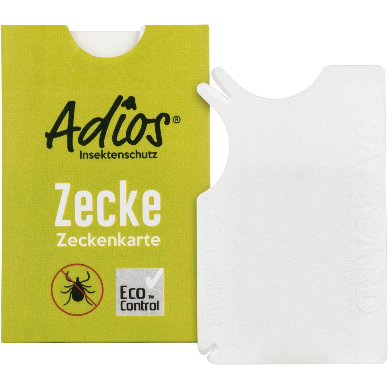 Adios  Zecken Zeckenkarte