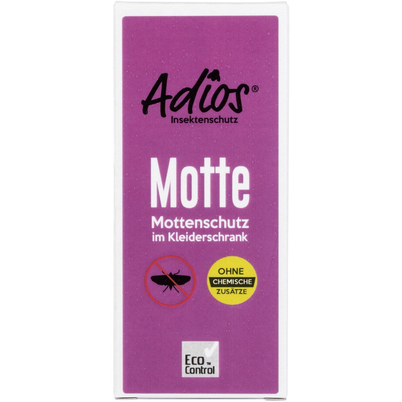 Adios Motten im Kleiderschrank
