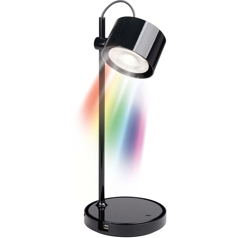 iDual  LED-Tischleuchte EEK: A++ - A Jasmine Schwarz