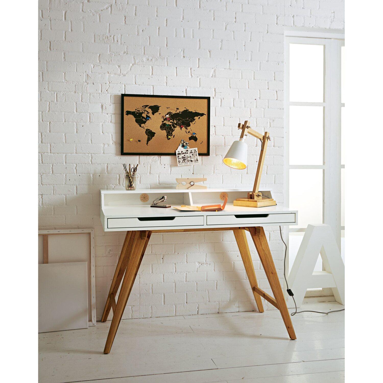 best of home pinnwand weltkarte schwarz kaufen bei obi. Black Bedroom Furniture Sets. Home Design Ideas