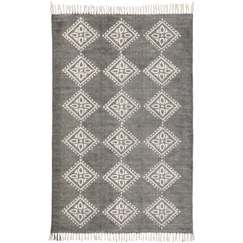 miavilla teppich rishina 170 cm x 240 cm natur schwarz kaufen bei obi. Black Bedroom Furniture Sets. Home Design Ideas