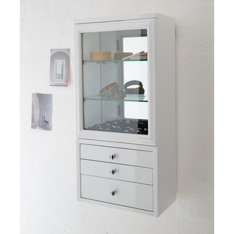 miavilla schmuck schrank clara wei kaufen bei obi. Black Bedroom Furniture Sets. Home Design Ideas