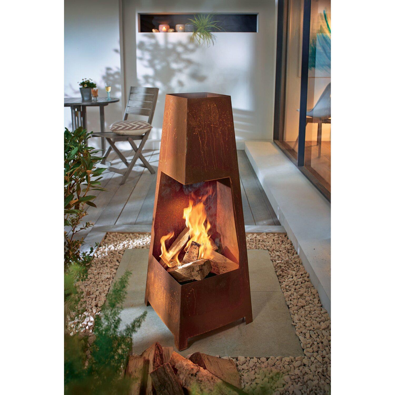 best of home feuerstelle rustik rost kaufen bei obi. Black Bedroom Furniture Sets. Home Design Ideas