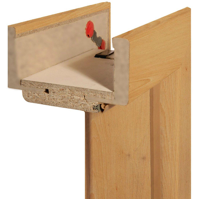 Zarge  Zarge Dekor Buche Holznachbildung 14 cm x 61 cm x 198,5 cm DIN ...