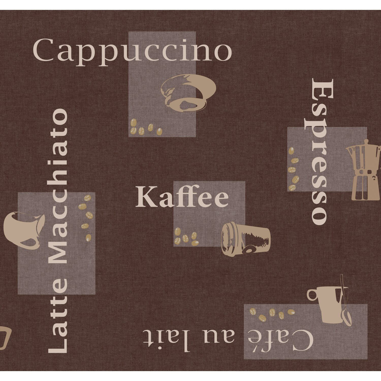 d c fix d-c-fix Tischdecke Cappuccino Schoko 130 x 160 cm eckig
