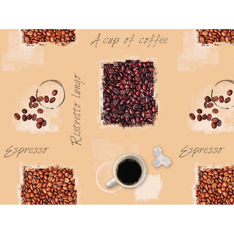 d c fix d-c-fix Tischdecke Espresso 130 x 160 cm eckig