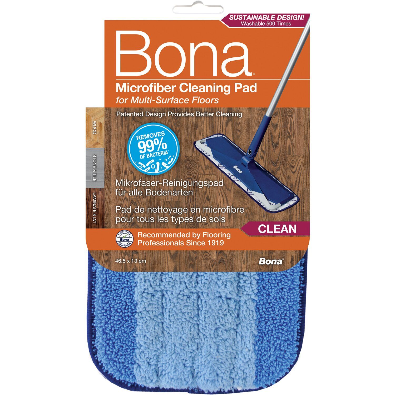Bona  Mikrofaser Reinigungspad Blau