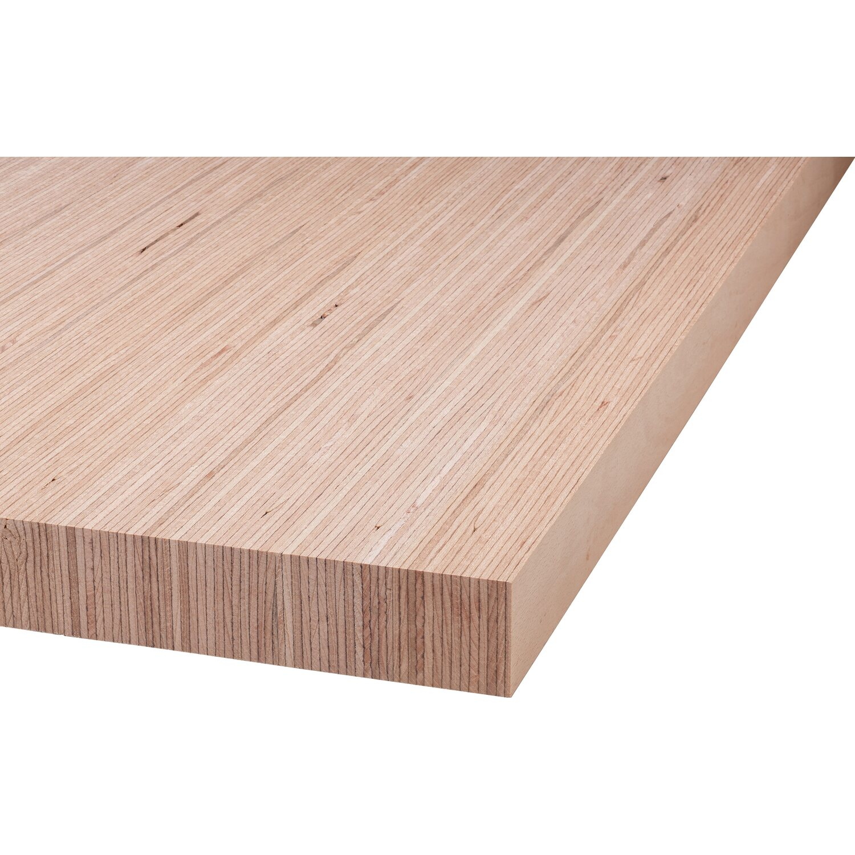 Arbeitsplatte buche fineline 240 cm x 60 cm x 4 cm kaufen for Obi arbeitsplatte buche
