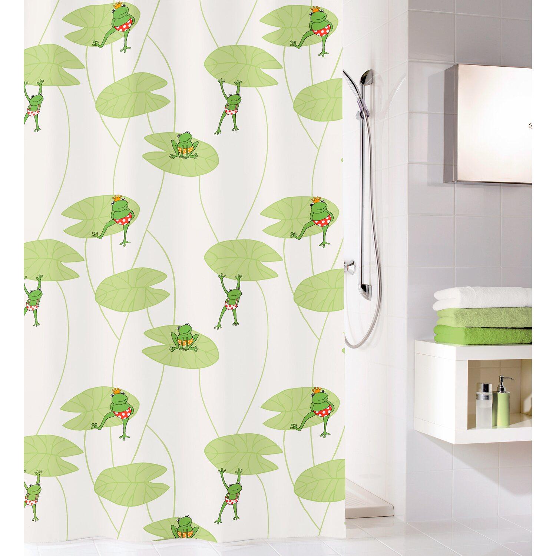obi duschvorhang frog 180 cm x 200 cm multicolor kaufen. Black Bedroom Furniture Sets. Home Design Ideas