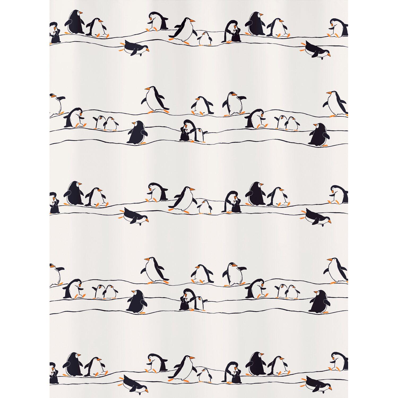 obi duschvorhang pinguin 180 cm x 200 cm multicolor kaufen. Black Bedroom Furniture Sets. Home Design Ideas