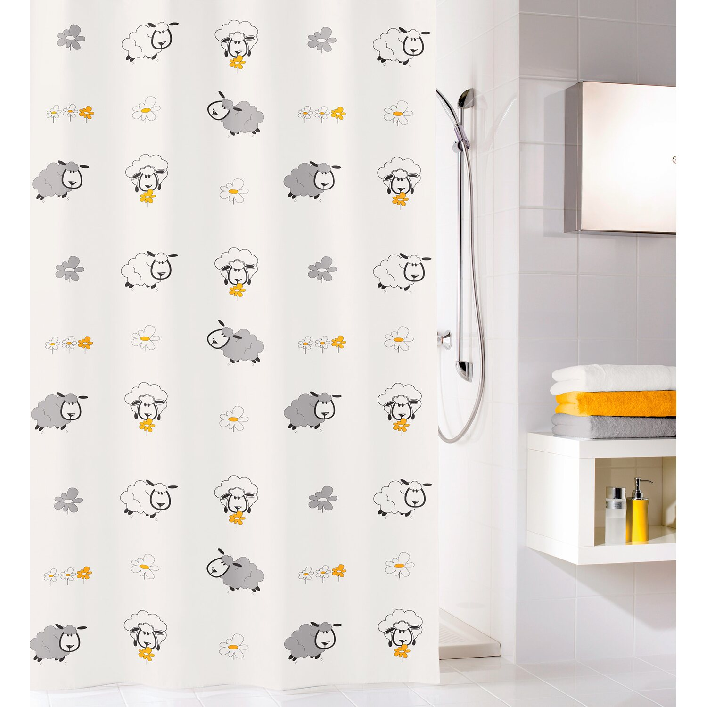 obi duschvorhang sheep 180 cm x 200 cm multicolor kaufen. Black Bedroom Furniture Sets. Home Design Ideas