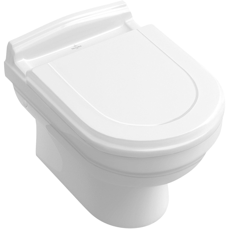 Villeroy & Boch Hommage WC-Sitz mit Absenkautomatik Weiß kaufen bei OBI