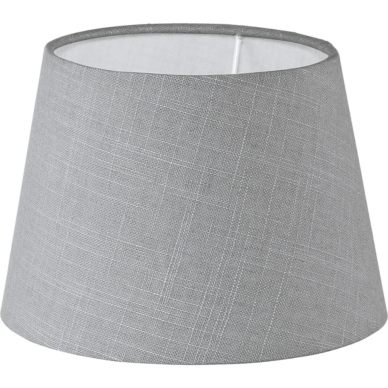 Eglo Lampenschirm Vintage Leinen Grau Ø 20,5 cm kaufen bei OBI