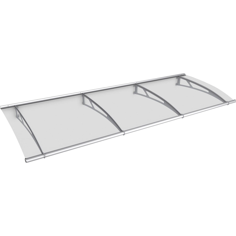 pultvordach l edelstahl klar 17 cm x 270 cm x 95 cm kaufen bei obi. Black Bedroom Furniture Sets. Home Design Ideas