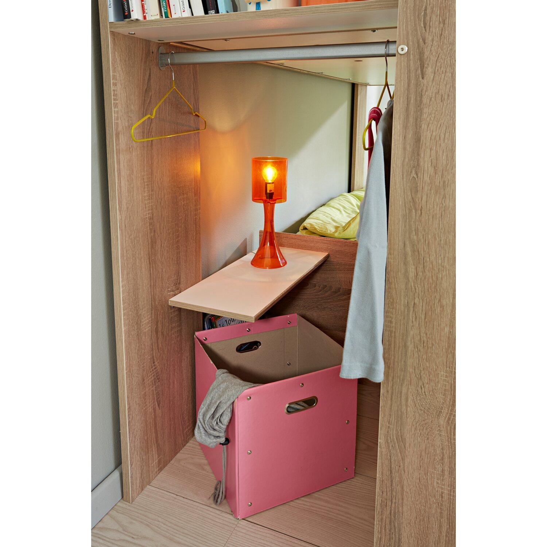 parisot etagenbett stim eiche sonoma wei kaufen bei obi. Black Bedroom Furniture Sets. Home Design Ideas