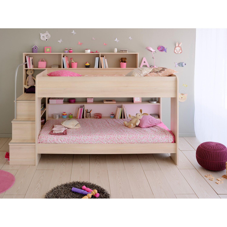parisot etagenbett bibop akazie kaufen bei obi. Black Bedroom Furniture Sets. Home Design Ideas