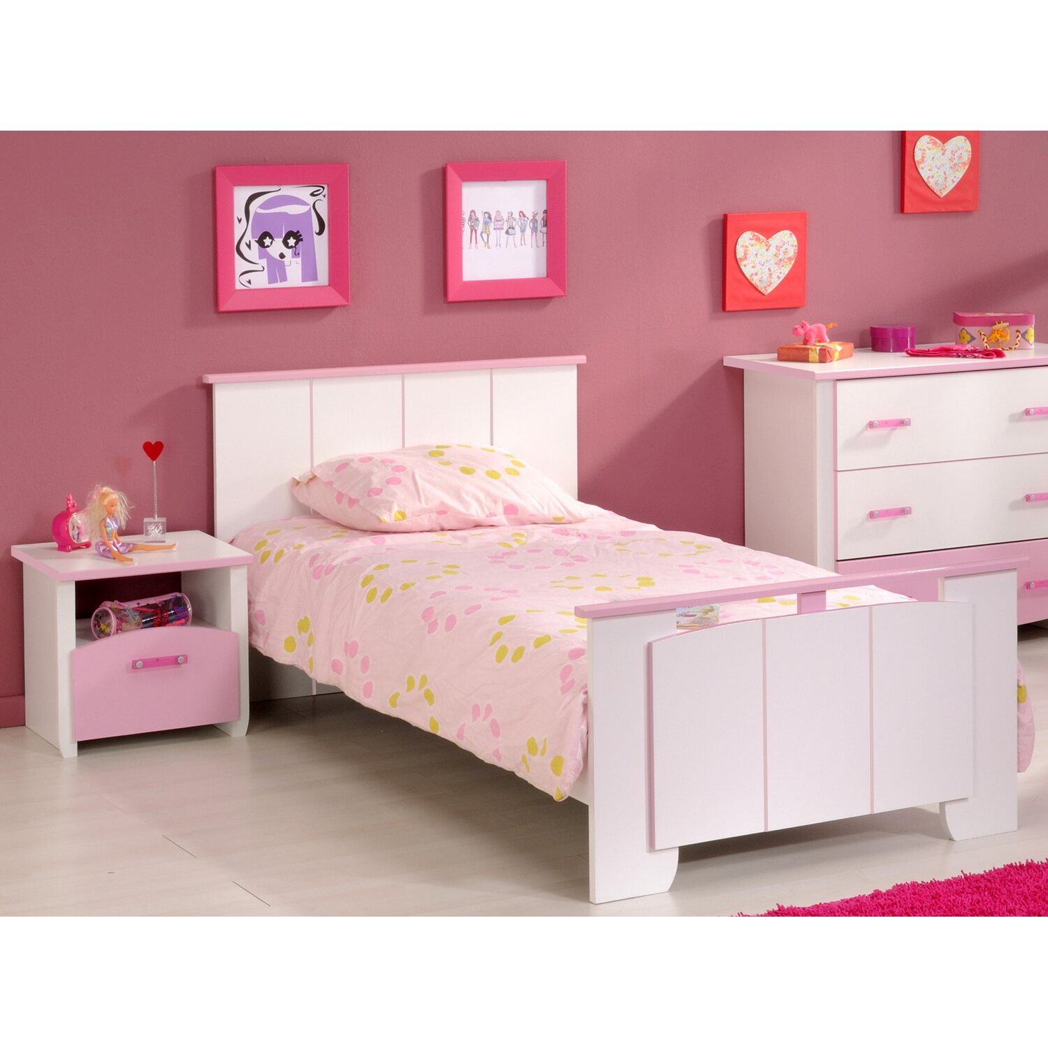 kinderbett mit trendy kinderbett mit dach wally with. Black Bedroom Furniture Sets. Home Design Ideas