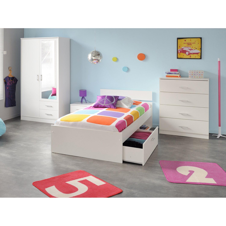 parisot kinder und jugendzimmer set 4 teilig infinity iii. Black Bedroom Furniture Sets. Home Design Ideas