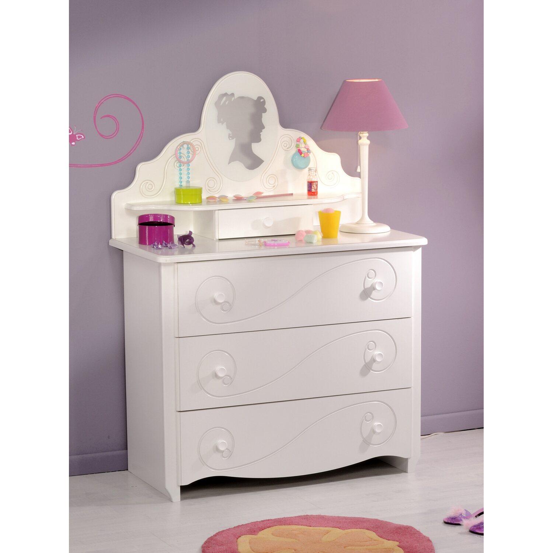 parisot kommode mit aufsatz alice wei kaufen bei obi. Black Bedroom Furniture Sets. Home Design Ideas
