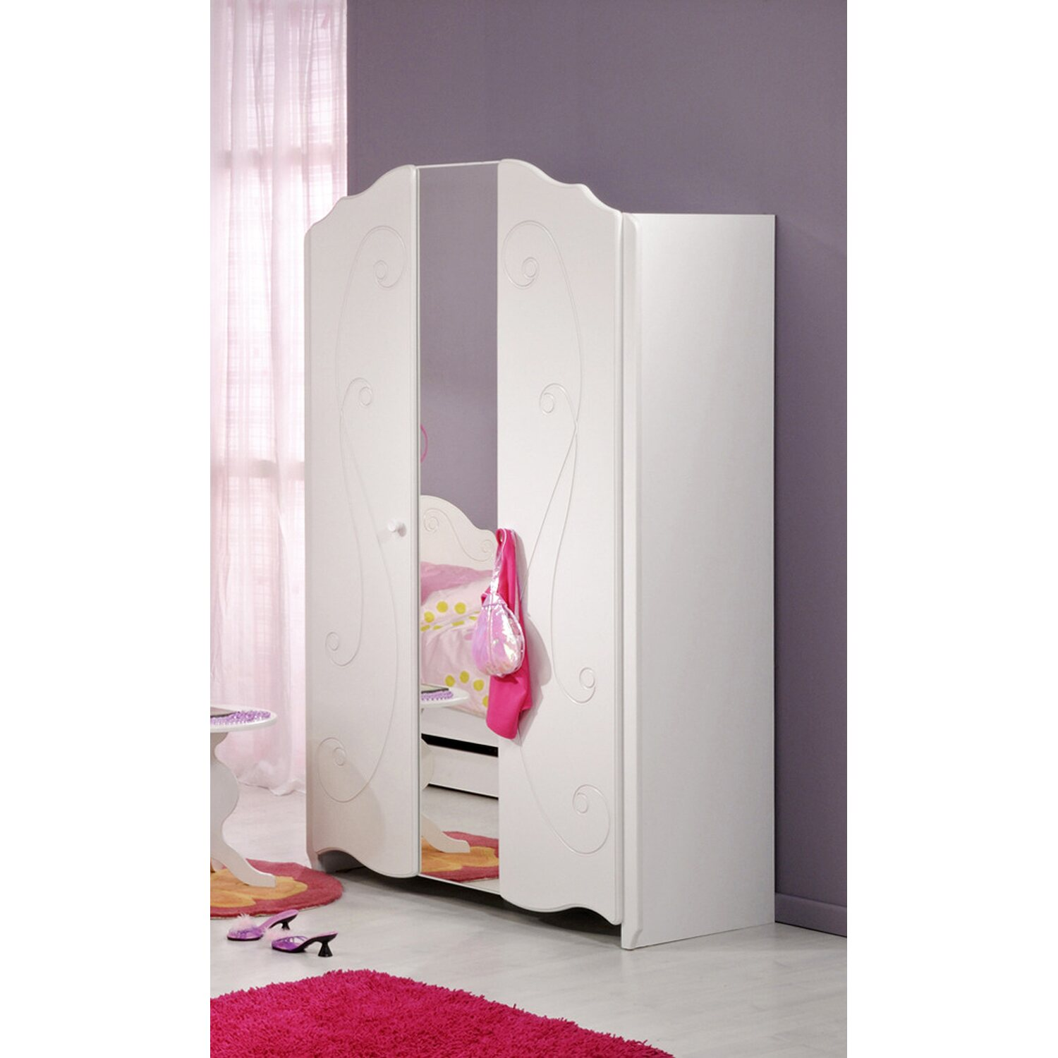 kleiderschrank prinzessin machen sie den preisvergleich bei nextag. Black Bedroom Furniture Sets. Home Design Ideas