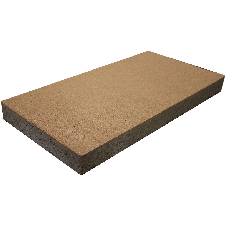 terrassenplatte beton galano sandstein optik 60 cm x 30 cm x 5 cm kaufen bei obi. Black Bedroom Furniture Sets. Home Design Ideas