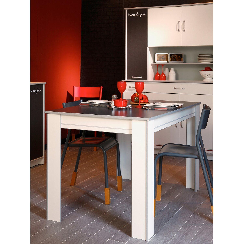 Genial Küchentisch Kaufen Galerie Von Parisot Küchentisch Bistrot Weiß-grau