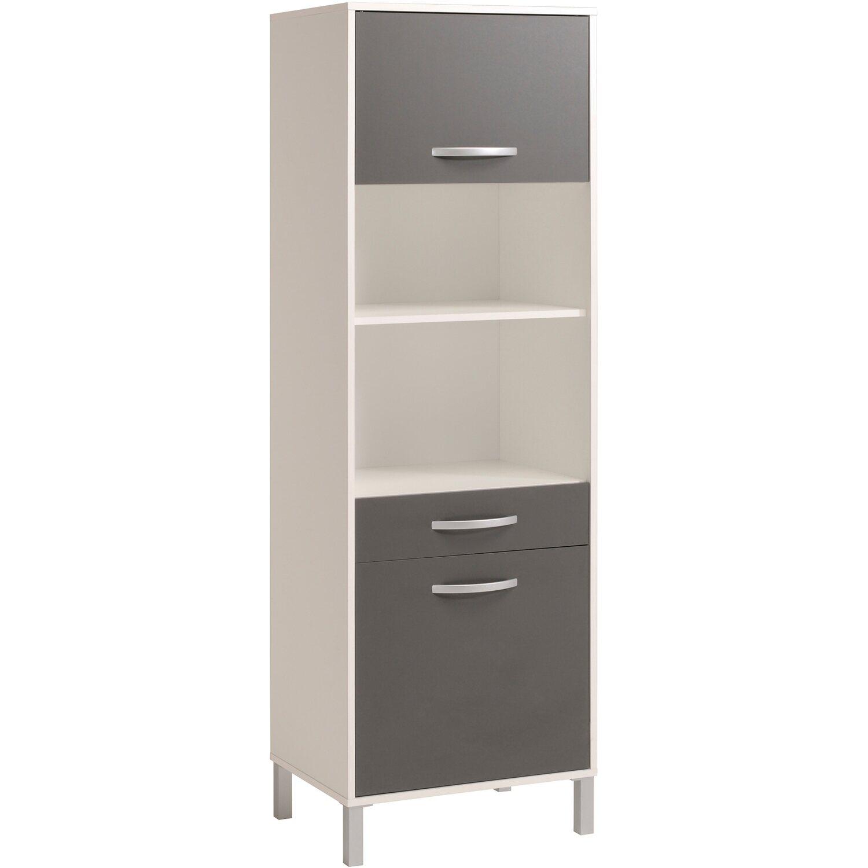 parisot k chenschrank optibox iii grau wei kaufen bei obi. Black Bedroom Furniture Sets. Home Design Ideas