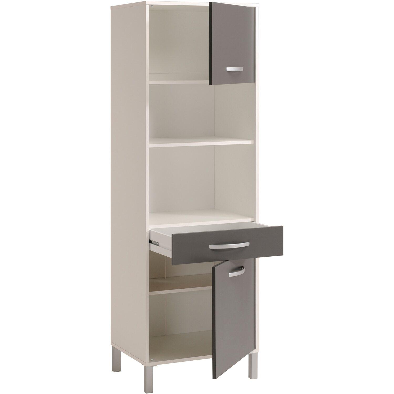 Parisot Küchenschrank Optibox III Grau-Weiß kaufen bei OBI
