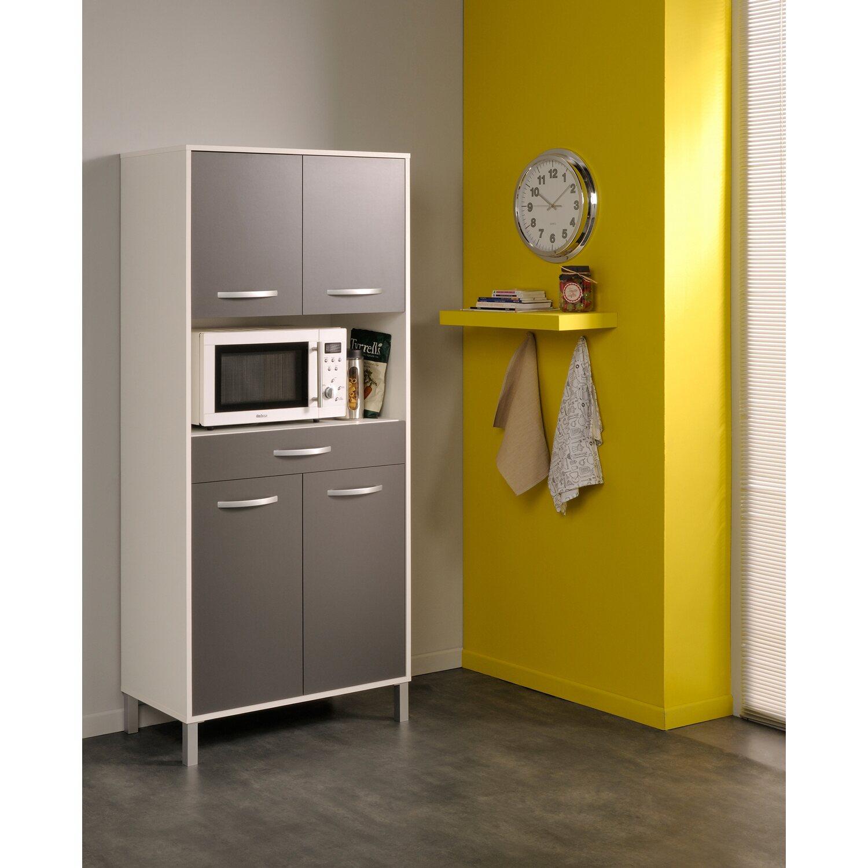 Parisot Küchenschrank Optibox IV Grau-Weiß kaufen bei OBI