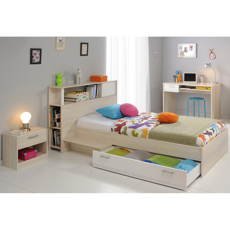 parisot kinderzimmer set 4 teilig charly ii akazie wei kaufen bei obi. Black Bedroom Furniture Sets. Home Design Ideas