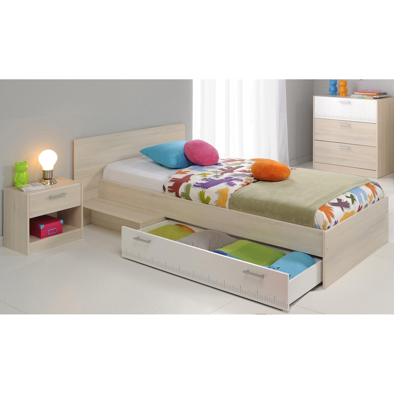 parisot kinderzimmer set 3 teilig charly iv akazie wei kaufen bei obi. Black Bedroom Furniture Sets. Home Design Ideas