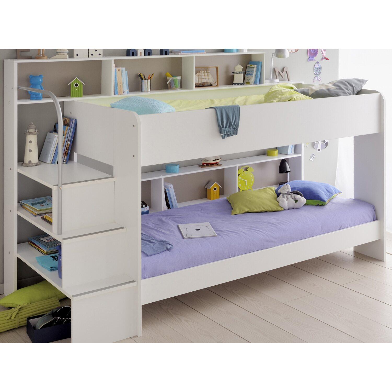 parisot etagenbett bibop wei kaufen bei obi. Black Bedroom Furniture Sets. Home Design Ideas