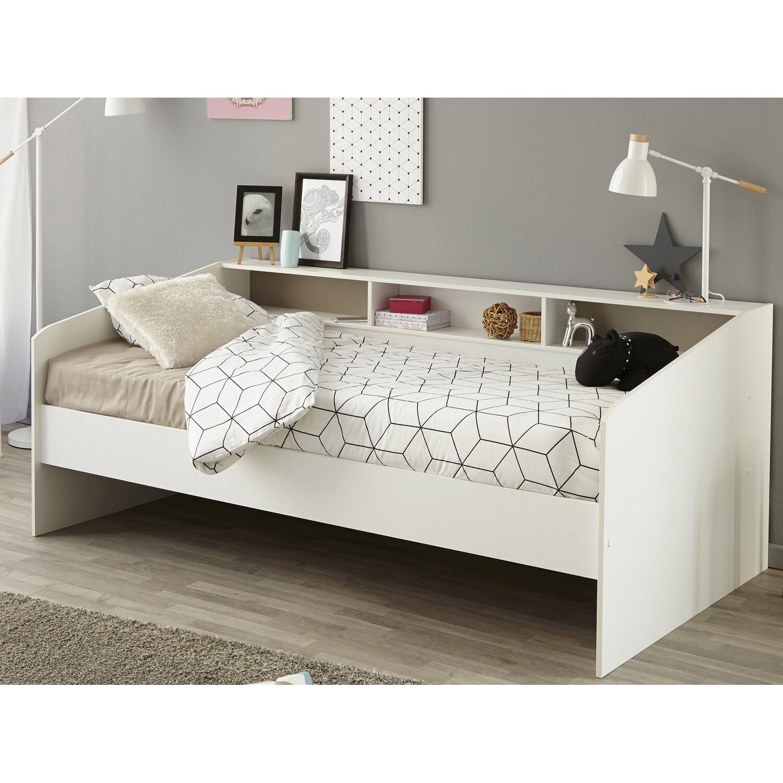 parisot stauraumbett ohne schubk sten sleep wei kaufen bei obi. Black Bedroom Furniture Sets. Home Design Ideas