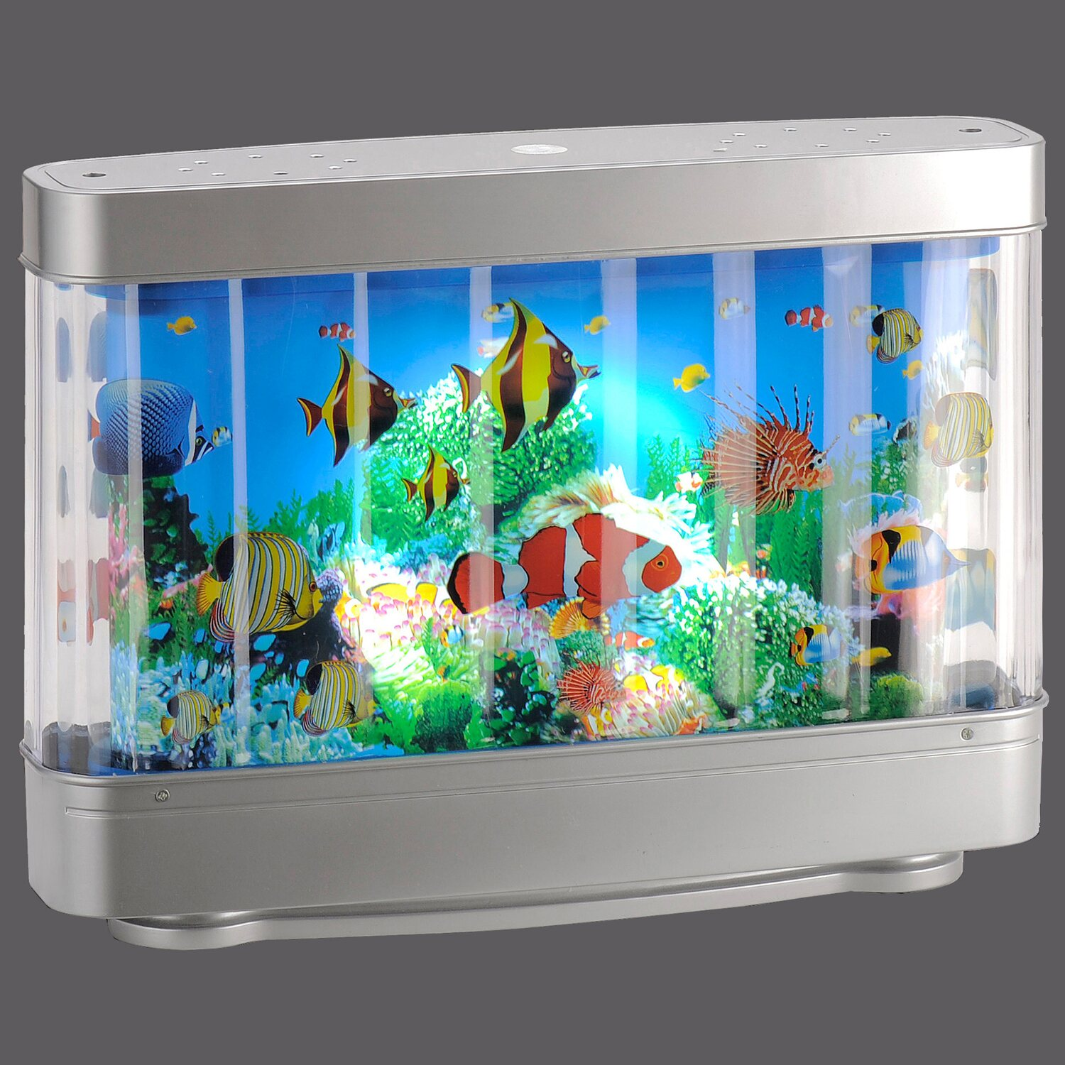 led tischleuchte aquarium silber eek a kaufen bei obi. Black Bedroom Furniture Sets. Home Design Ideas
