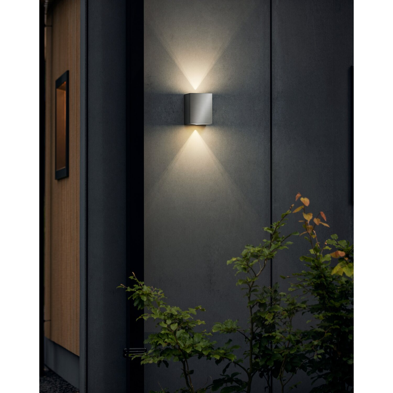 LED 14 Watt Decken Beleuchtung Außen Lampe Edelstahl Leuchte
