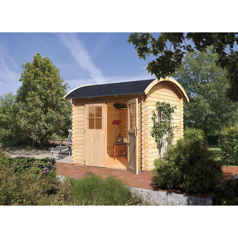 Karibu Holz Gartenhaus Filipstad 2 Natur B X T 230 Cm X 230 Cm Kaufen Bei Obi