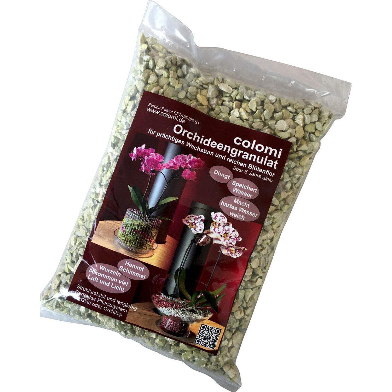 colomi orchideengranulat 1 l jade kaufen bei obi. Black Bedroom Furniture Sets. Home Design Ideas