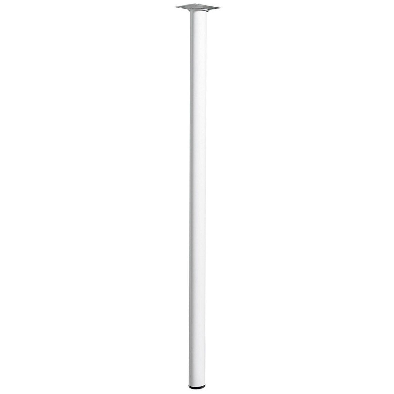 Hettich Tischbein Ø 30 mm x 700 mm Weiß | Wohnzimmer > Tische > Weitere Tische | Hettich