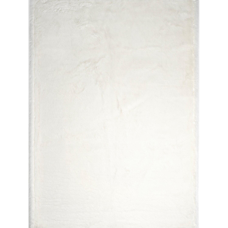 bb home passion Barbara Becker Teppich Flair 67 cm x 140 cm Weiß