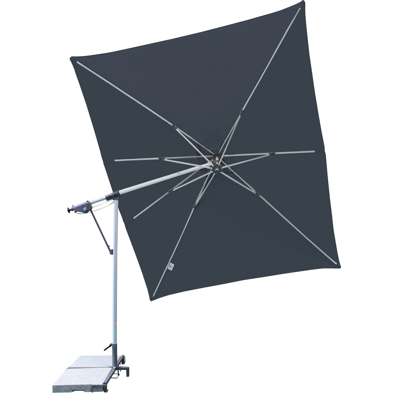 doppler sonnenschirm sunline pendel 300 cm x 220 cm anthrazit kaufen bei obi. Black Bedroom Furniture Sets. Home Design Ideas