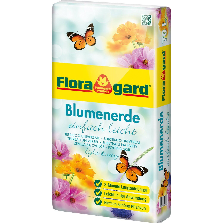 floragard blumenerde mit langzeitd nger einfach leicht 1 x. Black Bedroom Furniture Sets. Home Design Ideas